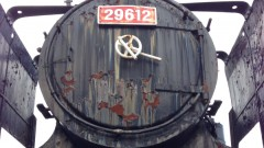 志免町の機関車が大分県玖珠町に譲渡