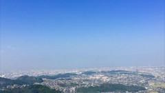 井野山 山頂は360度見渡せる(宇美町)