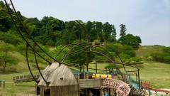 カブトの森公園の巨大カブトムシ(篠栗町)